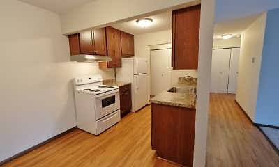 Kitchen, Minnehaha Apartments I & II, 0