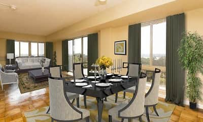 Dining Room, The Vista, 1