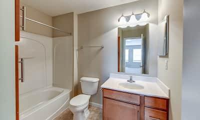 Bathroom, Polaris Place, 2
