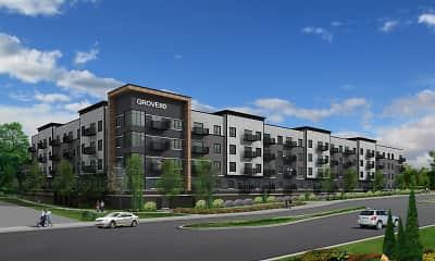 Building, Grove80 Apartments, 0