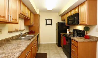 Kitchen, Belmont Ridge Apartments, 0