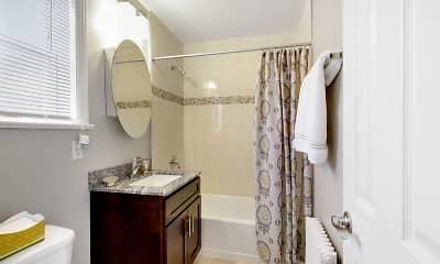 Bathroom, Hutton Lafayette Apartments, 1