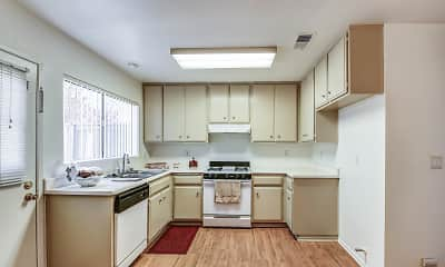 Kitchen, Park Place Townhomes, 1