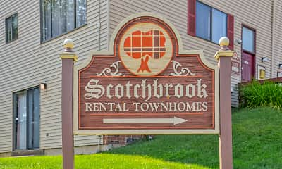 Community Signage, Scotchbrook Rental Townhomes, 2