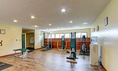 Fitness Weight Room, Sugar Bush Apartments, 1
