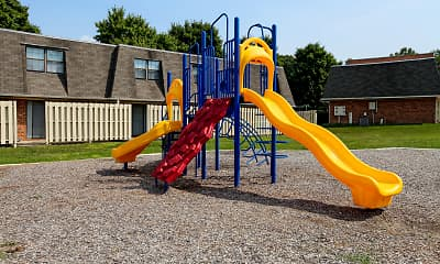 Playground, The Brittany Apartments, 1