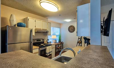 Kitchen, Marina Shores, 1