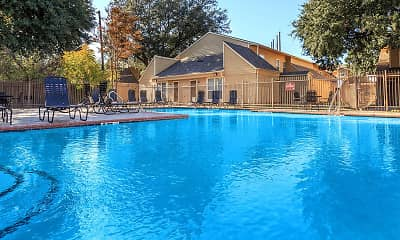 Pool, White Rock Hills Townhomes, 0