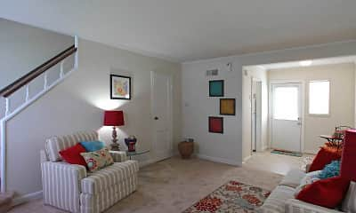 Living Room, Hilliard Road Apartments, 0