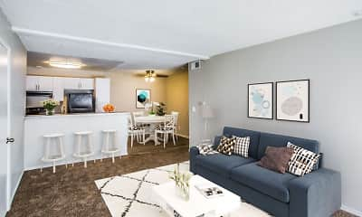 Living Room, Park At Spring Valley, 1
