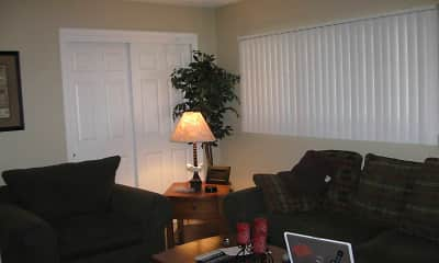 Living Room, Canyon Estates Apartments, 1