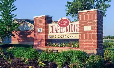 Community Signage, Chapel Ridge, 1