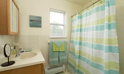 Bathroom, Mansfield Village Apartments, 2