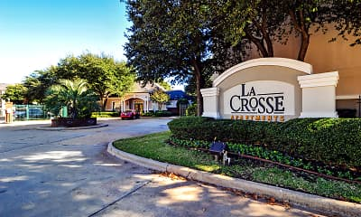 Community Signage, LaCrosse Apartments & Carriage Homes, 2