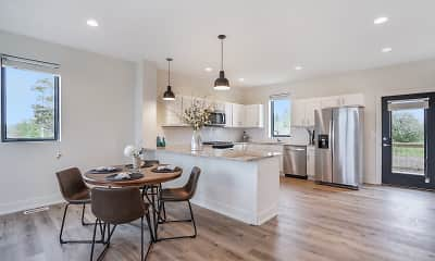 Kitchen, Portview Townhomes, 2
