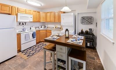 Kitchen, Eastampton Gardens Apartment Homes, 1
