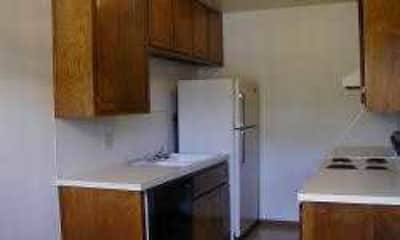 Kitchen, Sagebrush Apartments, 1