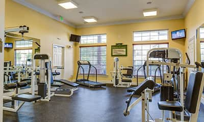 Fitness Weight Room, Somerset at Trussville, 1