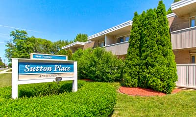 Community Signage, Sutton Place Apartments, 0