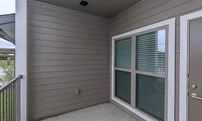 Patio / Deck, Cypress Creek Apartments Homes at Hazelwood, 2