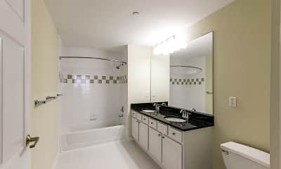 Bathroom, Merritt River Apartments, 2