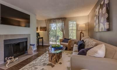 Living Room, Cedar Crest, 0