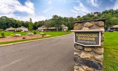 Community Signage, Townhouse Gardens Apartments, 2