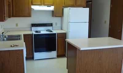Kitchen, M&I Apartments, 1