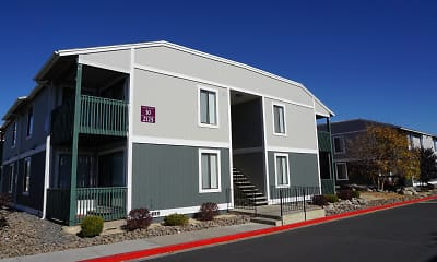Building, Green Pines Apartments, 2