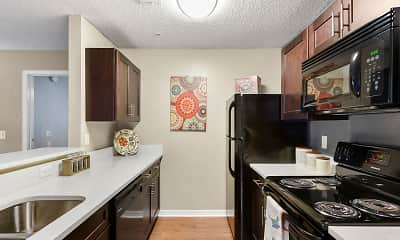 Kitchen, Kernan Oaks Apartments, 1