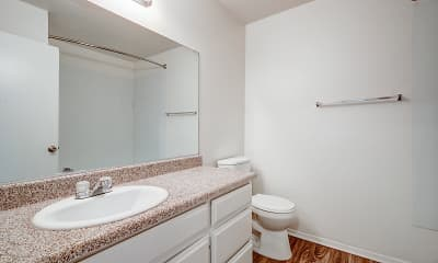 Bathroom, Park Place Townhomes, 2