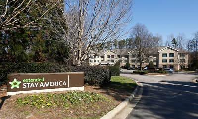 Community Signage, Furnished Studio - Raleigh - North Raleigh, 0