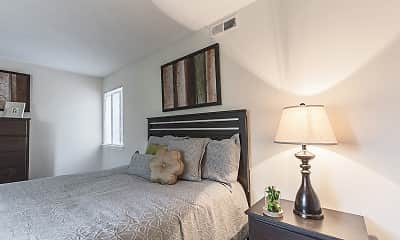 Bedroom, University Park Apartments, 1