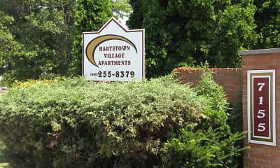 Community Signage, Hartstown Village, 2