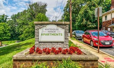 Community Signage, Whitehouse Manor, 2