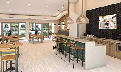 Dining Room, The Avant at Pembroke Pines, 1