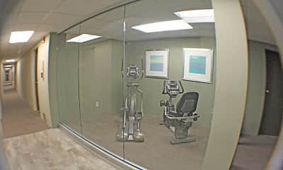 Fitness Weight Room, Lincoln Manor Apartments of Wadsworth, 2