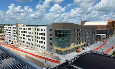 Building, The 505 Student Living, 2