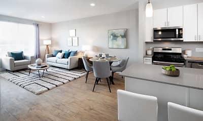 Dining Room, Avalon Easton Apartments, 1