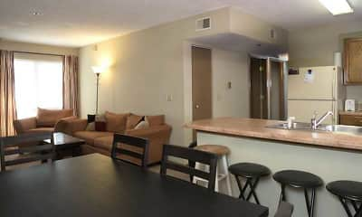 Dining Room, Washburn Place Apartments, 1