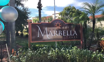 Community Signage, Marbella Park Apartments, 2