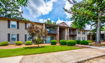 Building, The Woodlands Apartment Homes, 0