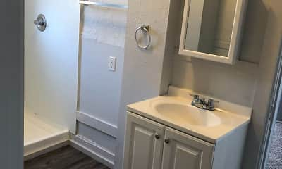 Bathroom, Knight Apartments in Downtown Greeley, 0