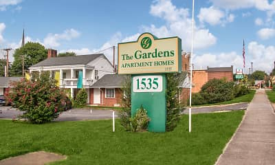 Community Signage, The Gardens Apartments, 2