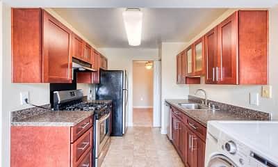 Kitchen, Oakton Park Apartments, 0