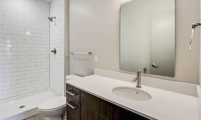 Bathroom, The Homes at Rivers Edge Apartments, 2