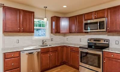 Kitchen, The Hills at River View, 1