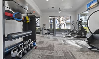 Fitness Weight Room, Retama Ranch, 1