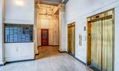 Foyer, Entryway, The Bell Lofts, 1