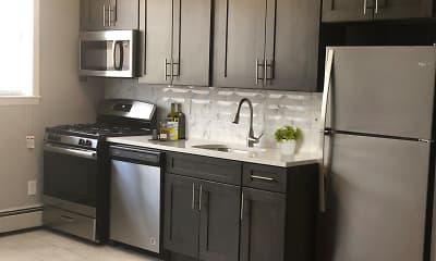 Kitchen, Ross Apartments, 0
